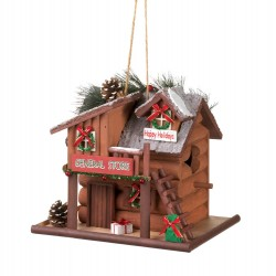 General Store Holiday Birdhouse