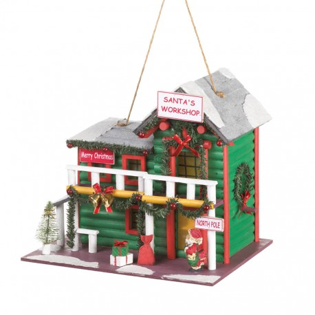 Santa's Workshop Birdhouse