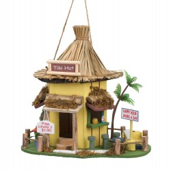 Tiki Hut Birdhouse