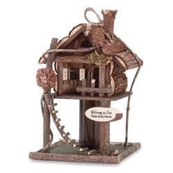 Tree House Bird House Feeder