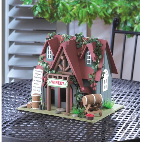 Cottage Winery Bird House