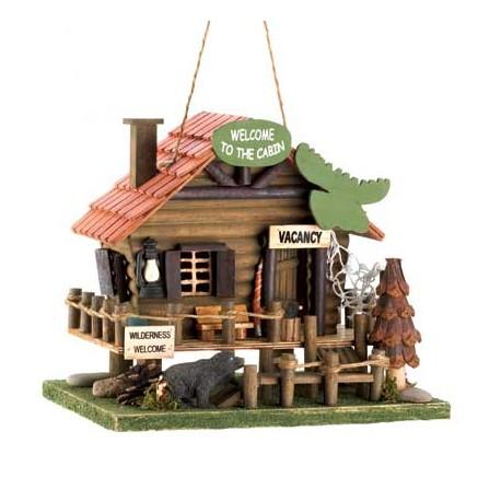 Woodland Cabin Birdhouse