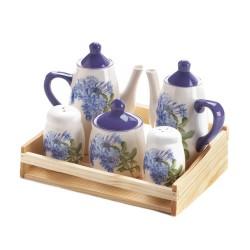 Mini Dolomite Tea Set