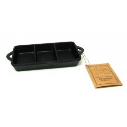 Old Mountain Rectangle Triple Serve Dish