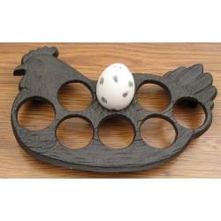 Cast Iron Egg Holder
