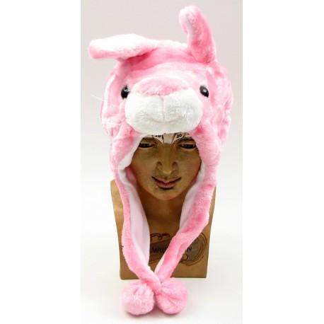 Kids Rabbit Plush Hat