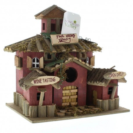 Wood Bird House - Finch Valley Winery