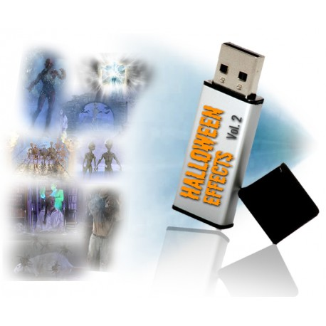 Halloween Effects Vol. 2 on USB Flash Drive