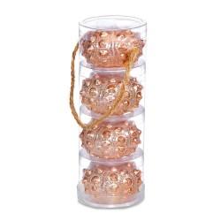 Copper Sea Urchin Candle Set