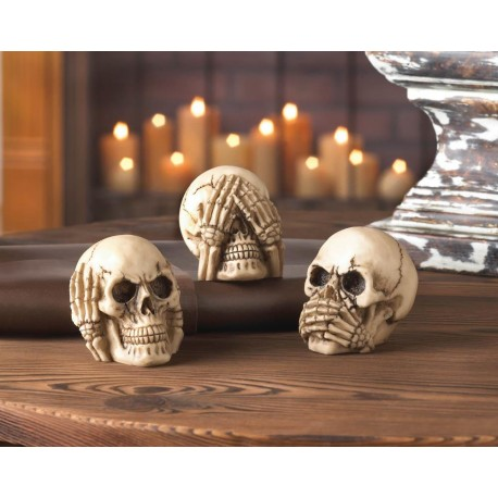 See Hear Speak No Evil - Skulls Trio