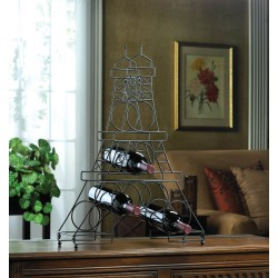 Eiffel Tower Wine Holder Rack