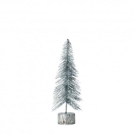 Silver Glitter Tree