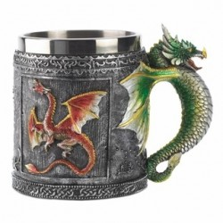 SET OF 2 - Royal Dragon Mugs