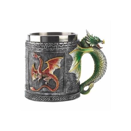 SET OF 2 - Royal Dragon Mugs
