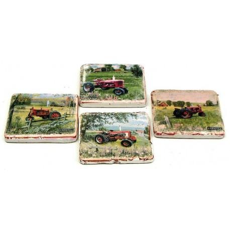 Farmall Coaster Set of 4