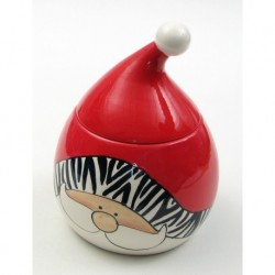 Wild About Santa Cookie Jar