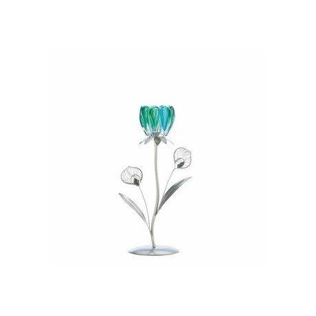 Peacock Bloom Candleholder
