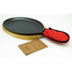 Old Mountain Cast Iron Preseasoned Fajita Set