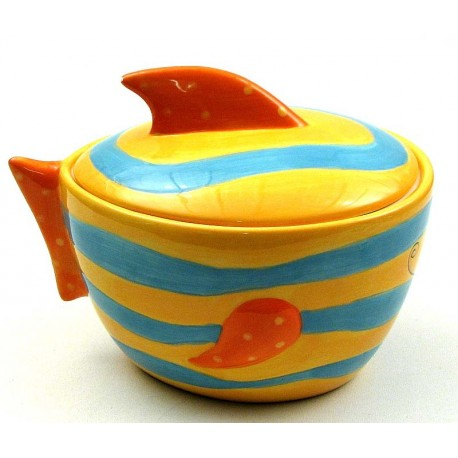 Fish Cookie Jar