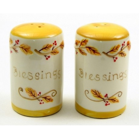 Harvest Salt and Pepper Set