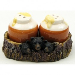 Bear With Honey Jar Salt and Pepper Set