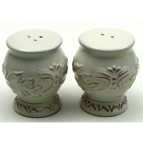 Decorative Ceramic Salt & Pepper Set
