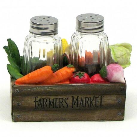 Veggie Box S&P Set