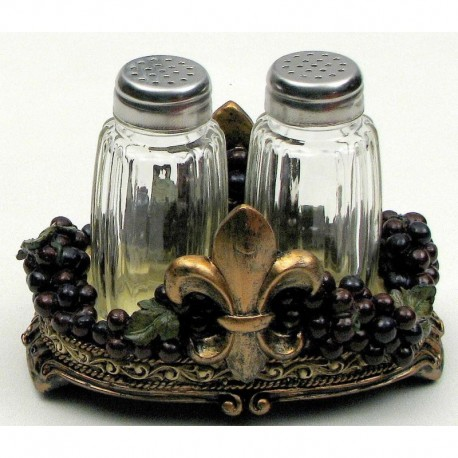 Fleur De Lis Grape S/P Set
