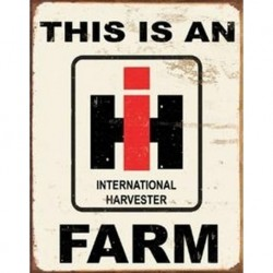 Tin Sign - IH Farm