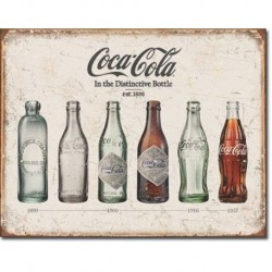TIN SIGN COKE - Bottle Evolution