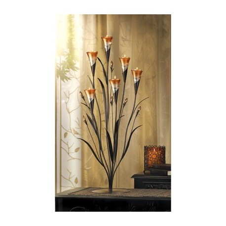 Dawn Flower Candleholder