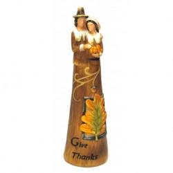 Harvest 'Give Thanks' Figurine