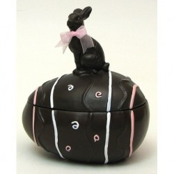 Chocolate Rabbit with Egg Box