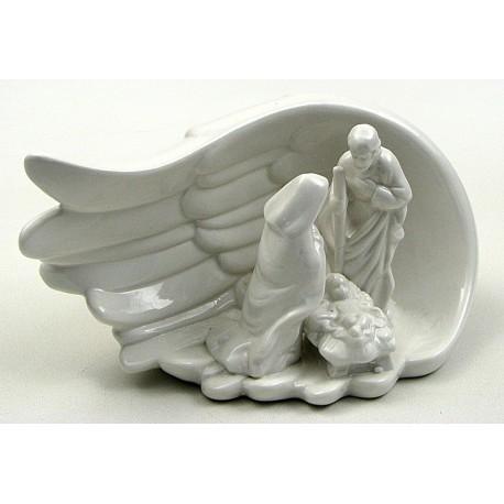 Ceramic Nativity in Wing