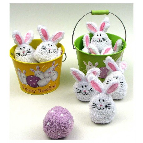 Bowling Bunnies 2 assorted priced each