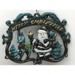 Merry Christmas Wall Plaque/Trivet