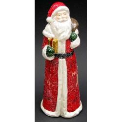 Vintage Terra Cotta Santa