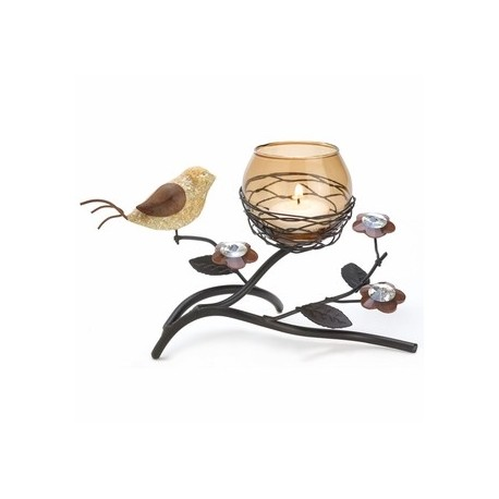 Partridge Nest Tealight Holder