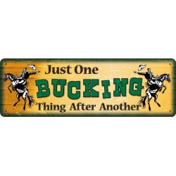 One Bucking Thing