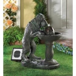 Thirsty Dog Solar Fountain