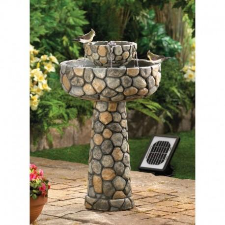 Wishing Well Solar Water Fountain