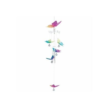 Rainbow Butterfly Windchime