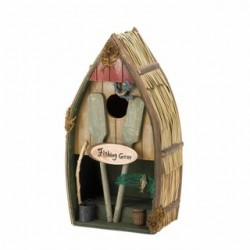 Fishing Boat Birdhouse