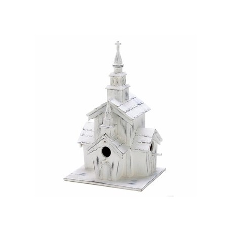 Little White Chapel Birdhouse