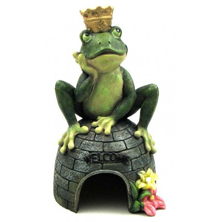 Resin Frog House