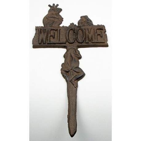 Frog Welcome Stake