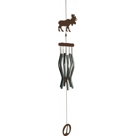 9inch Moose Windchime