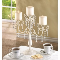 Ivory Elegance Candleabra
