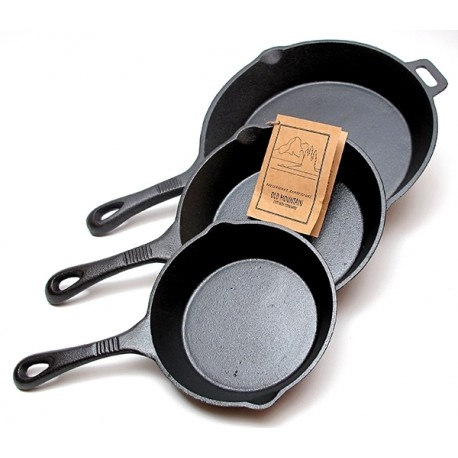 Old Mountain 3 Piece Skillet Set