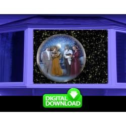 CHRISTMAS GLOBES DIGITAL DOWNLOAD
